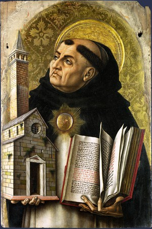 st-thomas-aquinas By Carlo Crivelli - http://www.nationalgallery.org.uk/paintings/carlo-crivelli-saint-thomas-aquinas, Public Domain, https://commons.wikimedia.org/w/index.php?curid=528367