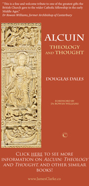 Advertisement - Alcuin, Theology and Thought - Douglas Dales